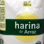 Harina de arroz glutinoso en Mercadona - Donde comprar en Linea