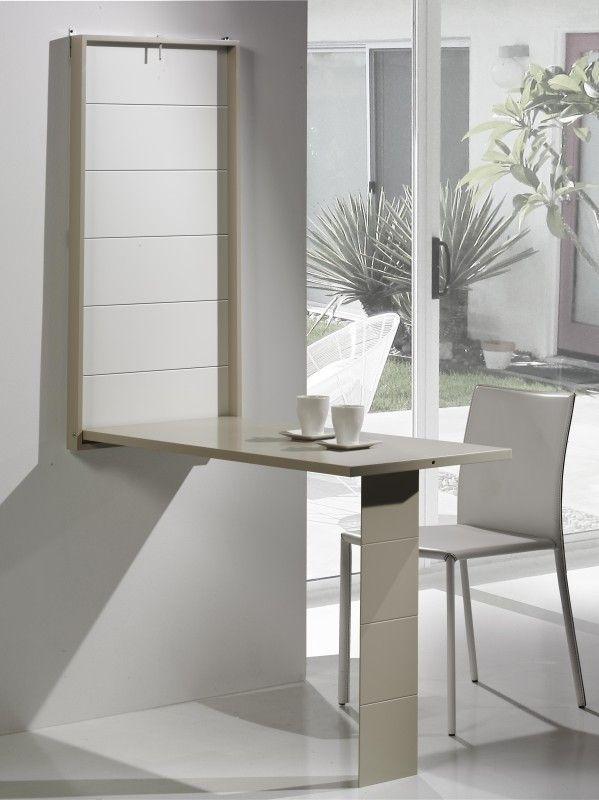 9 mesas plegables montadas en la pared para ahorrar espacio que debe comprar