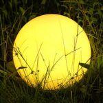 Lámpara solar de suelo Lild