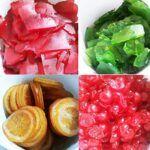 Fruta confitada Eroski