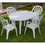 Mesa plastico jardin Eroski